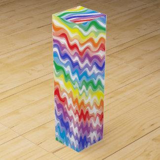 A Rhythmic Rainbow Wine Gift Box