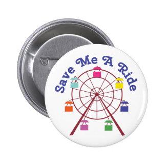 A Ride 6 Cm Round Badge