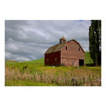 A ride through the farm country of Palouse 4 Poster