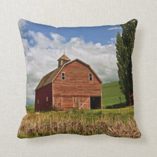 A ride through the farm country of Palouse Cushion