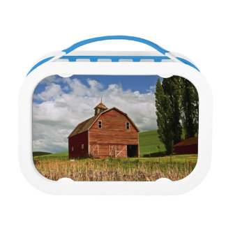 A ride through the farm country of Palouse Lunch Box