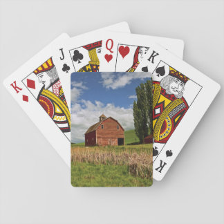 A ride through the farm country of Palouse Playing Cards