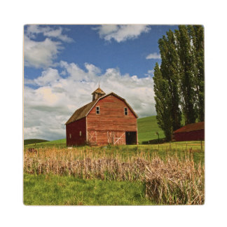 A ride through the farm country of Palouse Wood Coaster