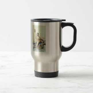 A Rider by Ilya Repin Stainless Steel Travel Mug