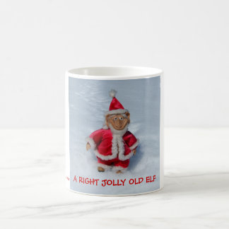 A RIGHT JOLLY OLD ELF. COFFEE MUG