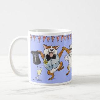 'A Right Royal Knees Up!' Royal Wedding Mug