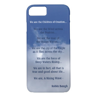 """""""A Rising Wave"""" iPhone 7 Case"""