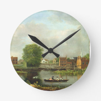 A River Landscape, possibly a View from the West E Clocks