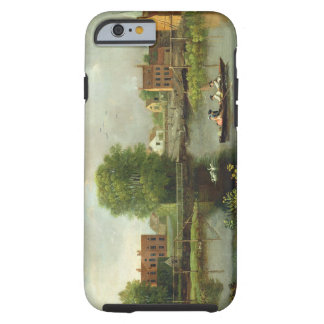 A River Landscape, possibly a View from the West E Tough iPhone 6 Case