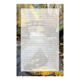 A River Running Through American Fork Canyon Custom Stationery