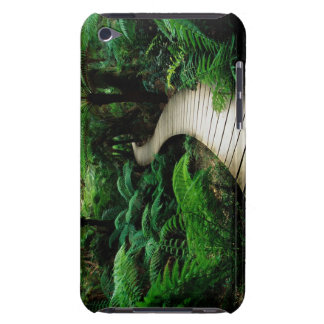 A road in the middle of the wild forest iPod touch Case-Mate case