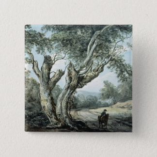 A Road Through Windsor Forest 15 Cm Square Badge