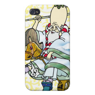 a rodeos Jurojin. ロデオ寿老人 Case For iPhone 4