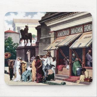 A Roman Street Scene Mouse Pad