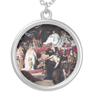 A Roman Triumph Personalized Necklace