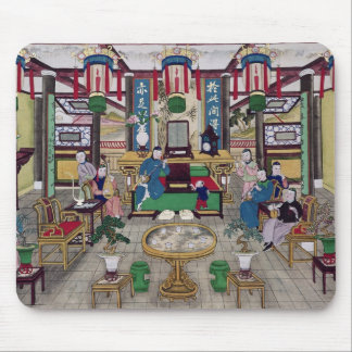 A Room in the House of Mr. Kong, a Peking Merchant Mouse Pad