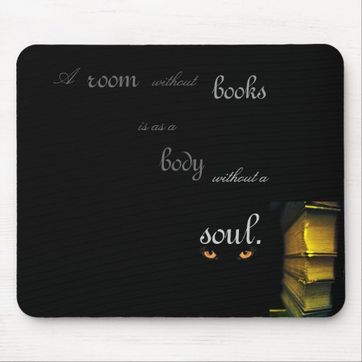 A Room Without Books Mousepads
