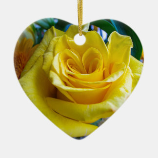 A rose by any other name ceramic heart decoration