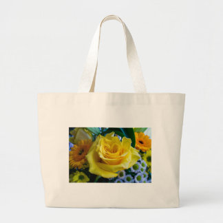 A rose by any other name large tote bag