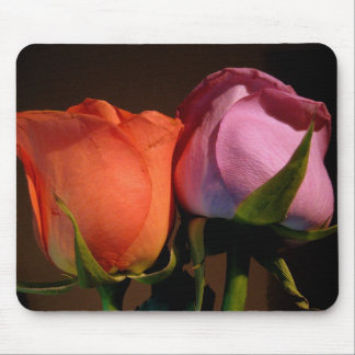 A Rose Couple Mouse Pad