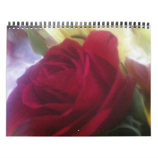 A Rose Filled Calendar