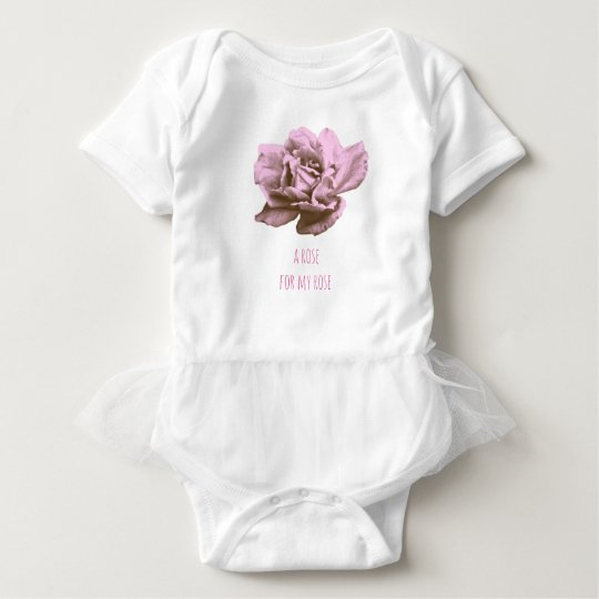 A rose for you baby bodysuit