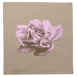 A rose for you napkin