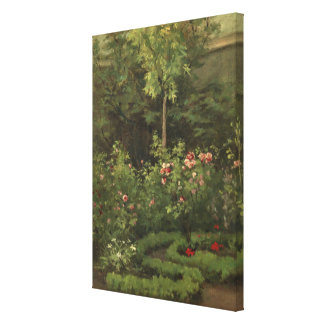 A Rose Garden Canvas Print