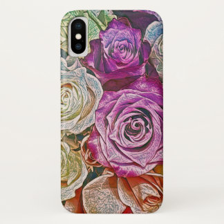 A Rose is a Rose iPhone X Case