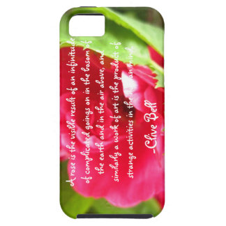 """A Rose Is"", Clive Bell iPhone 5 Covers"