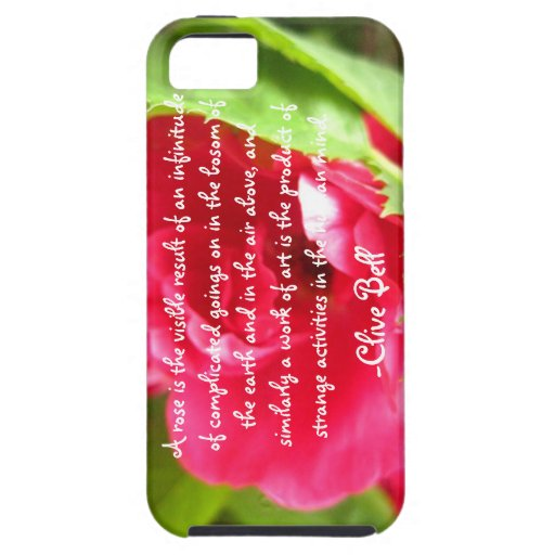 """""""A Rose Is"""", Clive Bell iPhone 5/5S Covers"""