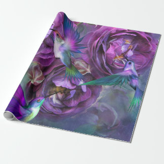 A Rose Named Violet Art Gift Wrap