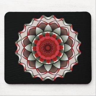 A Rose Without Thorns Mandala Mousepad