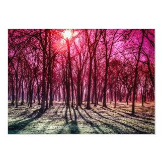 A Rosy Morning 13 Cm X 18 Cm Invitation Card