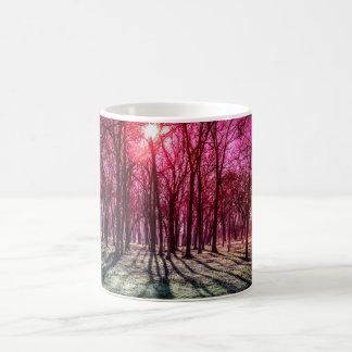 A Rosy Morning Basic White Mug