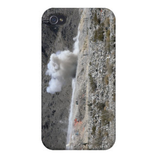 A round from an AT-4 small rocket launcher Cases For iPhone 4