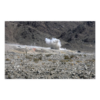 A round from an AT-4 small rocket launcher Photo Print