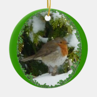 A Round Robin Christmas Decoration
