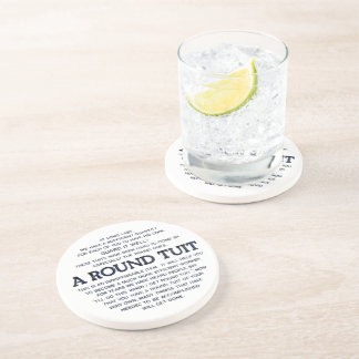 A Round Tuit! Beverage Coasters