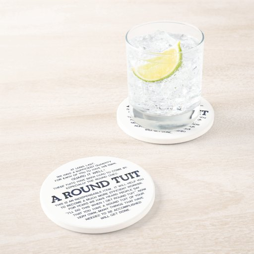A Round Tuit! Coasters