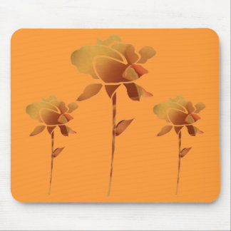 A row of roses mouse pad