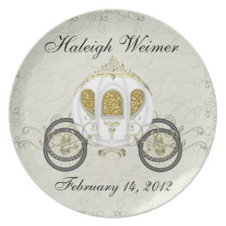 A Royal Event Invitation Plate