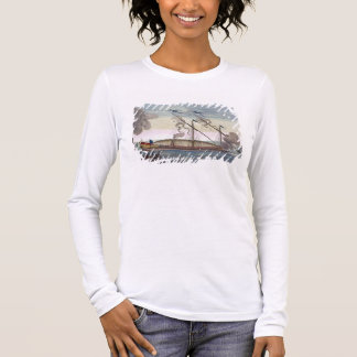 A Royal Galley (Spanish or Portuguese) rowed by sl Long Sleeve T-Shirt