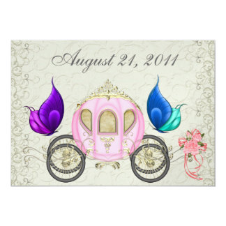 A Royal Party - SRF 5x7 Paper Invitation Card