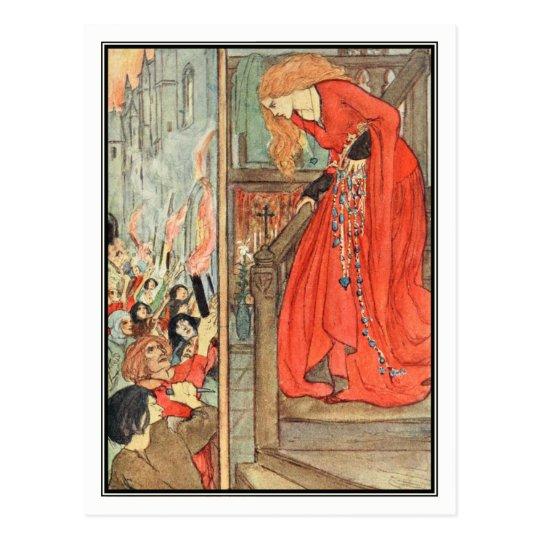 A Royal Princess by Florence Harrison Postcard