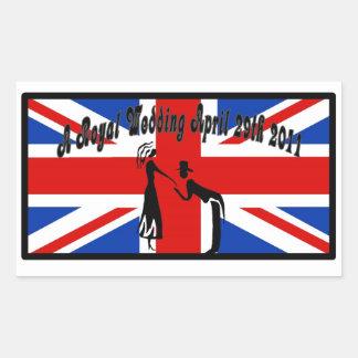 A Royal Wedding Sticker