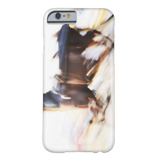 A running horse at a high speed is competing in barely there iPhone 6 case