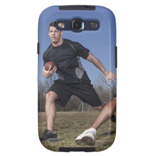 A running play during a touch football game. galaxy s3 case