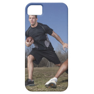 A running play during a touch football game. iPhone 5 cases