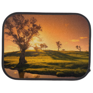 A rural Adelaide Hills landscape Car Mat